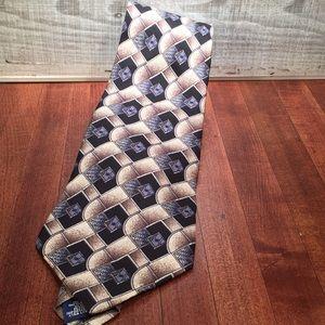 Arrow decorative tie 100% imported silk